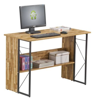 Catalan Walnut Home Office Desk 1