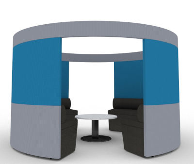 Sonif Seating Pod Blue Grey (2)