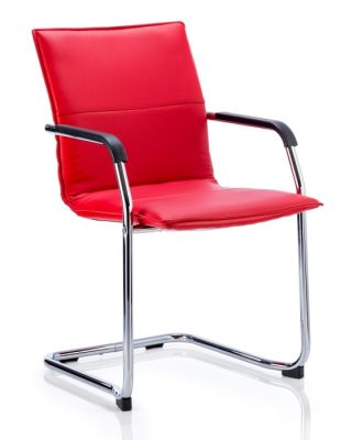 Denton Conference Chair In Red