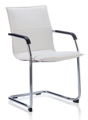 Denton Copnference Chair In White