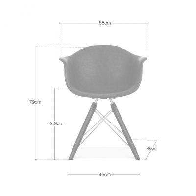 Jumo Aviator Chair Dims