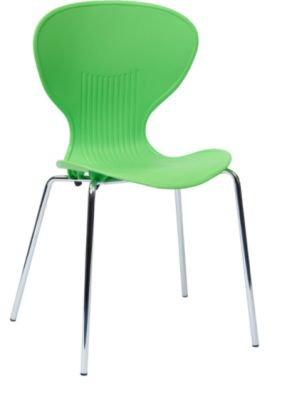 Piazza Poly Chair Lime Green Shell