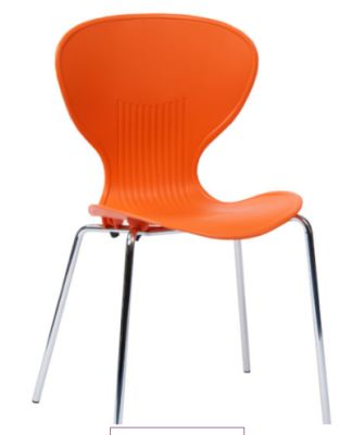 Piaaza Poly Chair In Orange