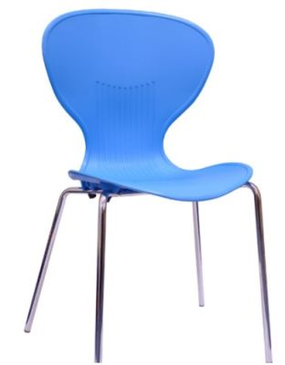 Piazza Poly Chair In Blue