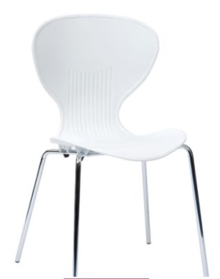 Piazza Poly Chair In White