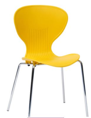 Piazza Poly Chair In Yellow