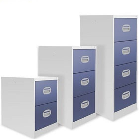 Kontrax Two Tone Coloured Filing Cabinets