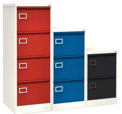 S Line Execitive Two Tone Filing Cabinet