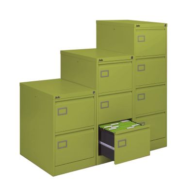 Silverline Executive Filing Cabinets Ion Chloirophyll Finish