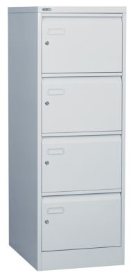 Metal Filing Cabinet Standard Colours Prev S Line Individual Locking Four Drawer