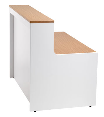 Swift Reception Desk Shown From The Side