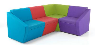 Nova Modular Seating Layout Showing Corner Sofa