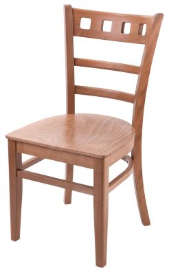 Alphine Wooden Dining Chair Oak To Clear