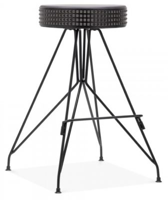 Cool Geomex Designer Bar Stool Black Frame Inzonedesignstudio Interior Chair Design Inzonedesignstudiocom
