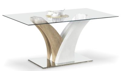 Palaga Designer Glass Dining Table