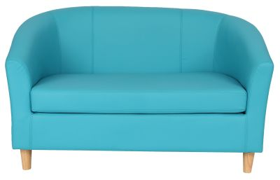 Tritium NEXT DAY Coloured Leather Sofas - Wooden Feet