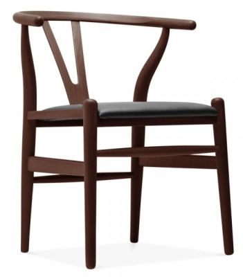 separation shoes f00fe cc7f1 Ergon Wishbone Designer Dining Chair - Walnut
