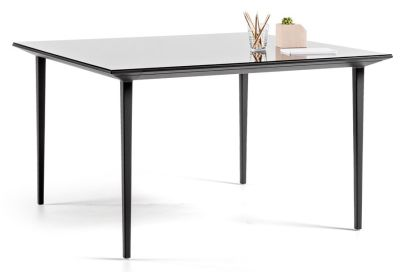 Longo Rectangular Designer Desk Glass