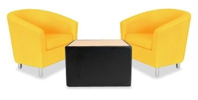Tritium Tub Chair Bundle Deal Yellow