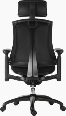 Rapport Chair With Headrest Rear View
