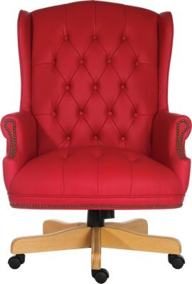 Chairman Rouge Executive Chair Front View