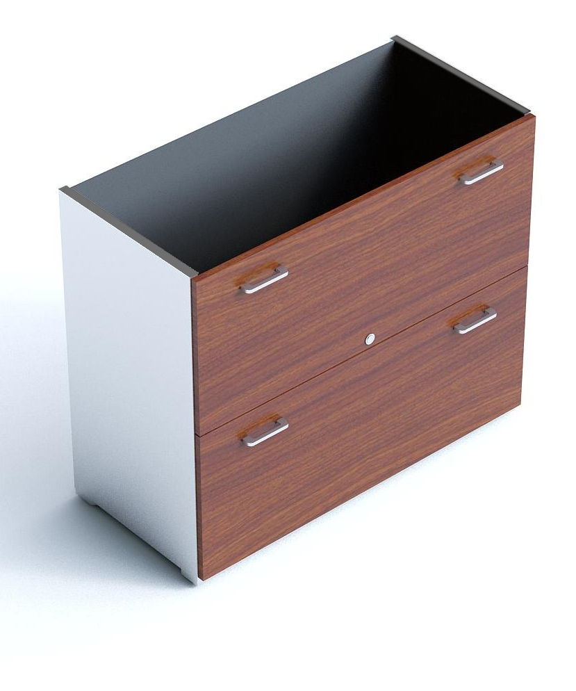 An image of Armarios Two Drawer Filing Unit Without Top