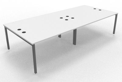 Sequest Four Person Table White