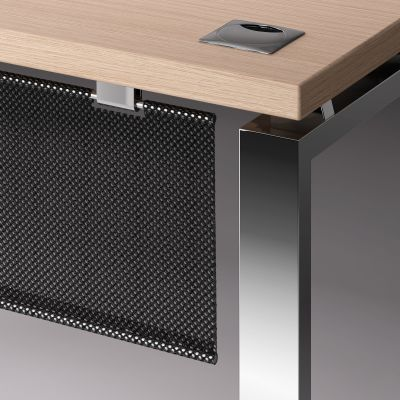Prestige Executive Desk Modesty Panel Detail