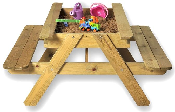 Admirable Sandpit Picnic Table Jax Online Reality Pabps2019 Chair Design Images Pabps2019Com