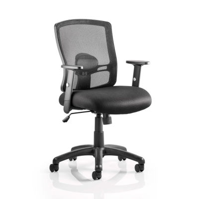 Amazing Orion Black Mesh Task Operator Chair With Adjustable Arms Home Interior And Landscaping Transignezvosmurscom