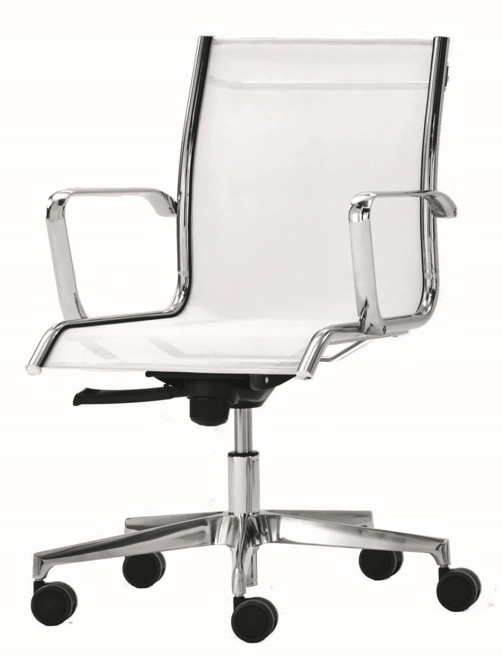 An image of Milan Mesh Designer Mid Back Swivel Chairs