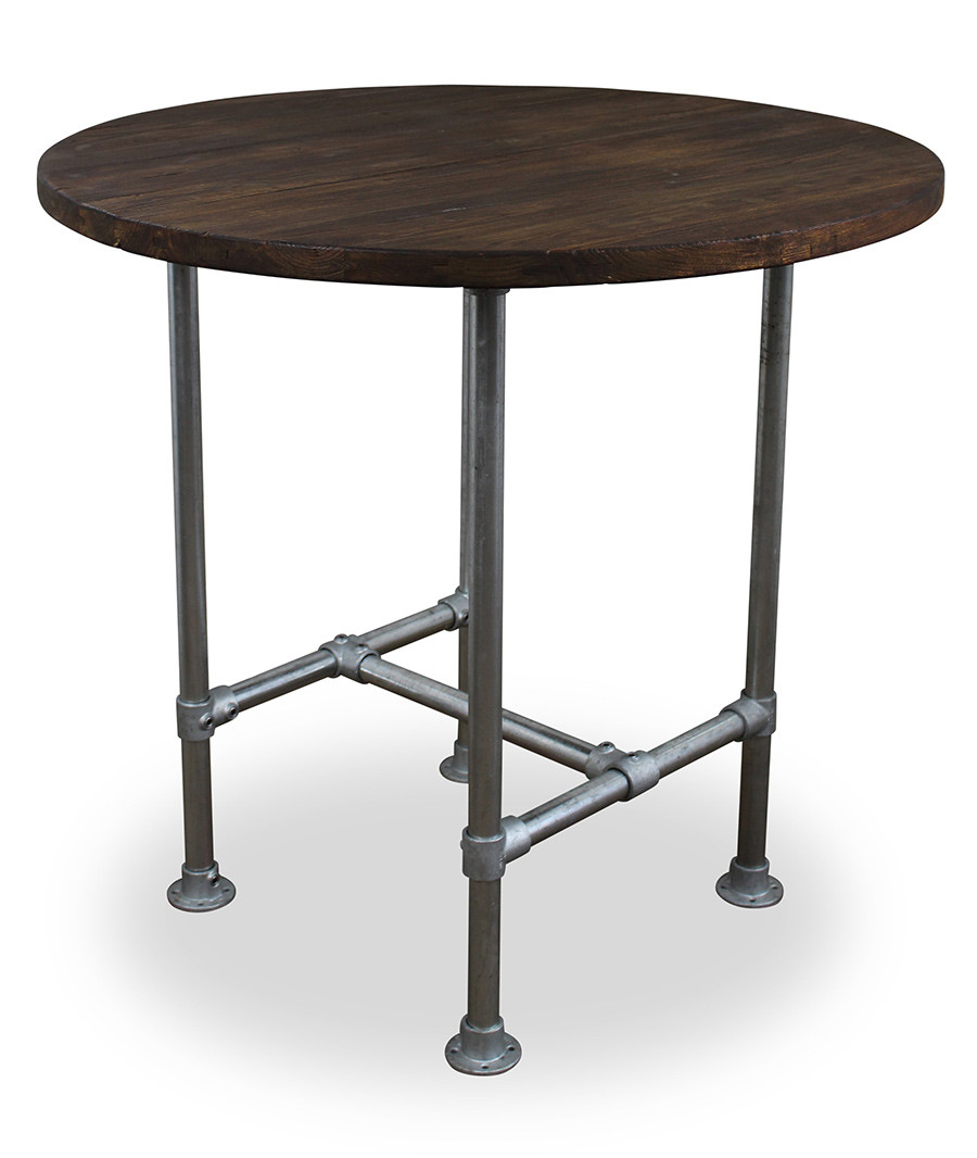 An image of Verdant Circular Scaffold Table - Dining Height Diameter 550mm