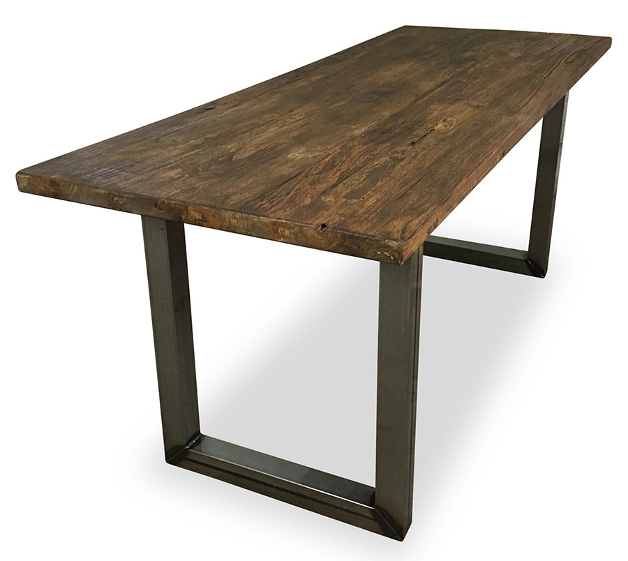 An image of Verdant Rectangular Table Loop Frame - 1350mm x 700mm