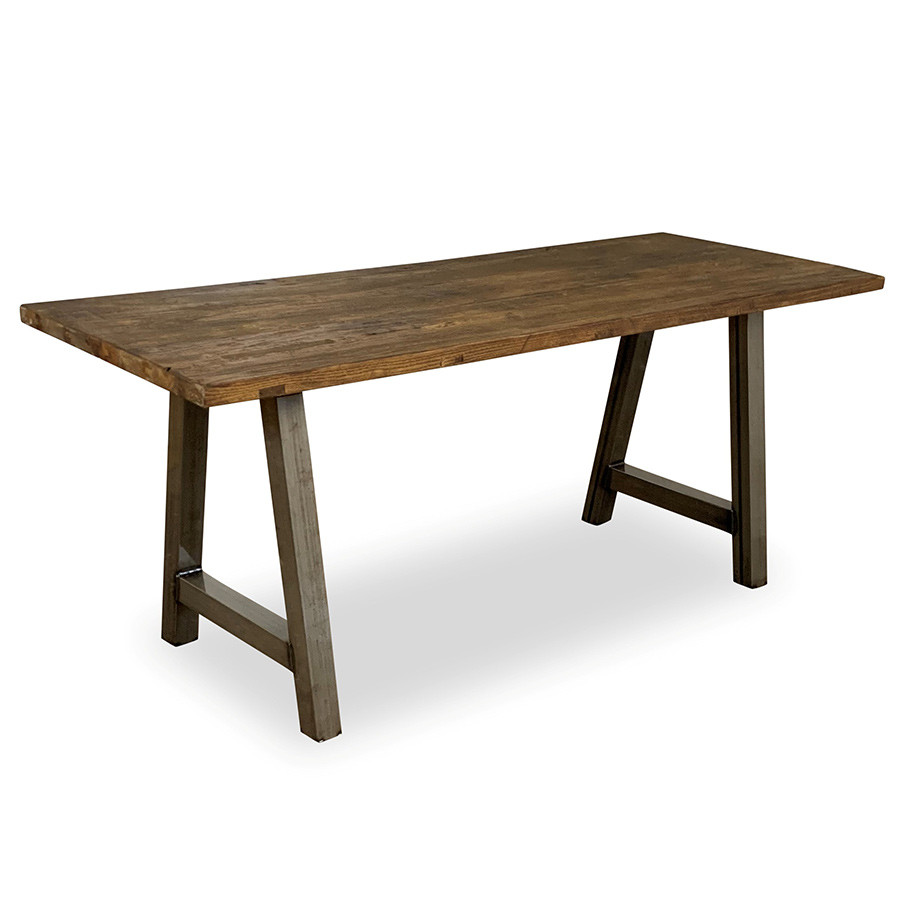 An image of Verdant Rectangular Table A Frame - 1350mm x 700mm