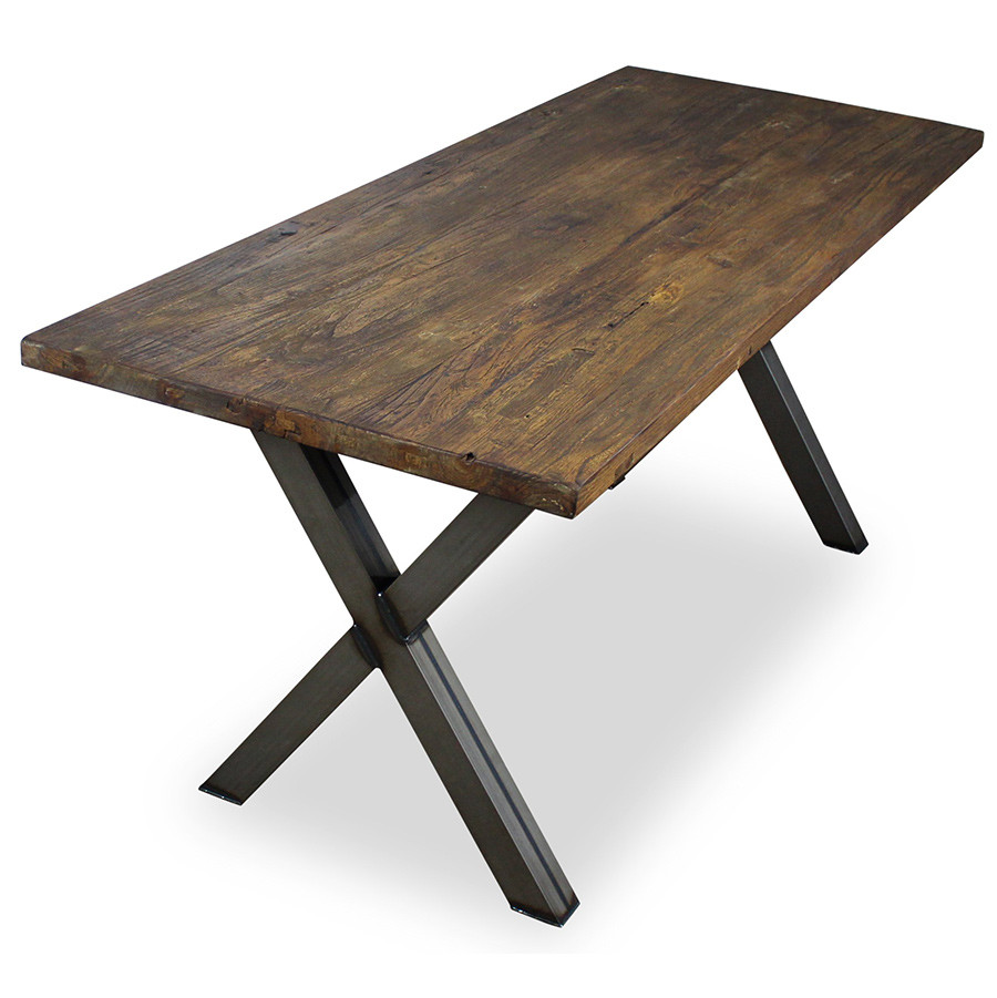 An image of Verdant Rectangular Table X Frame - 1350mm x 700mm