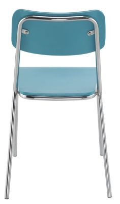 Kooler Chair In Light Bluje Rera View