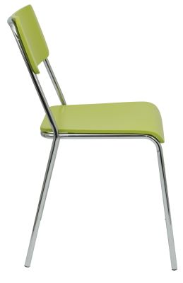 Keelrt Chair In Lime4 Green Side View