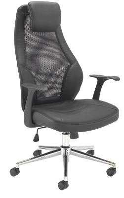 Fortrum Executive Mesh Task Chair Front Angle View