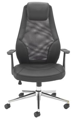 Fortrum Mesh Back Executive Chair Front View