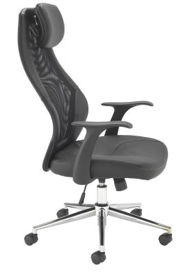 Fortrum Executive Mesh Task Chair Side View