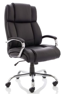 Texla Leather Executive Chair Angled View