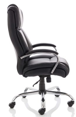 Texla Leather Executive Chair Side View