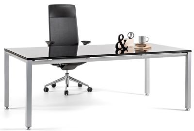 Vital Executive Glass Desk