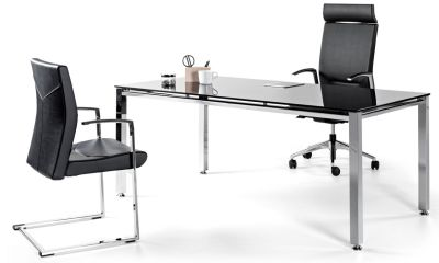 Vital Executive Glass Desk 2