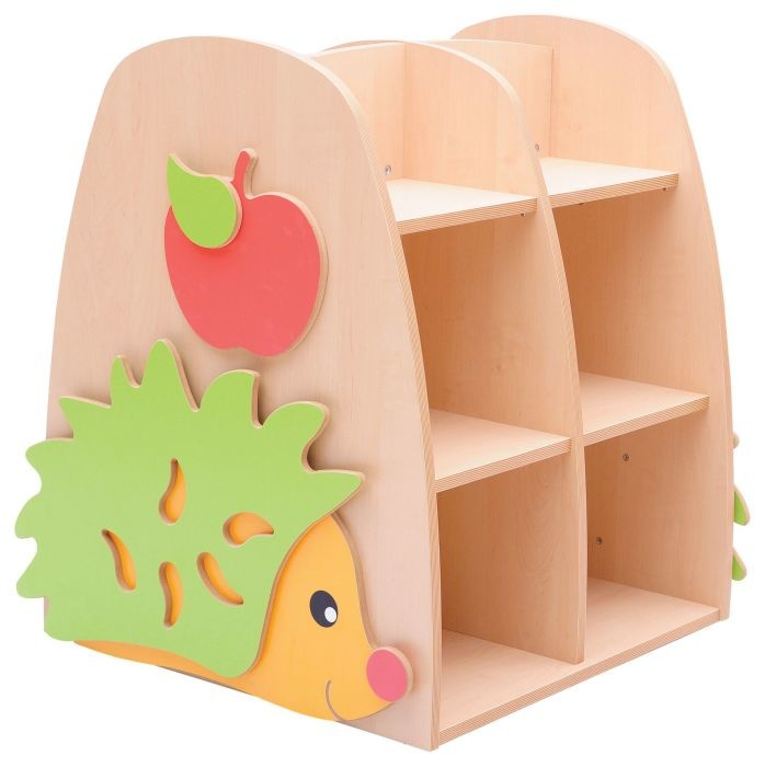 An image of HILO Double Sided Hedgehog Bookcase