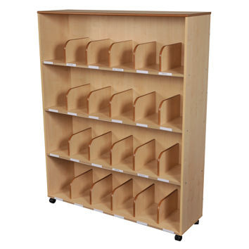 An image of Maple Adult Bookcase