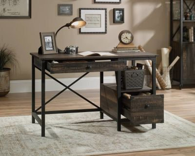 Found Wrought Iron Desk In Situ