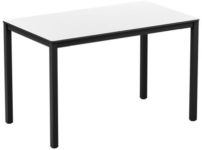 Rectangular Dining Height Hpl Table Extreme White Online Reality
