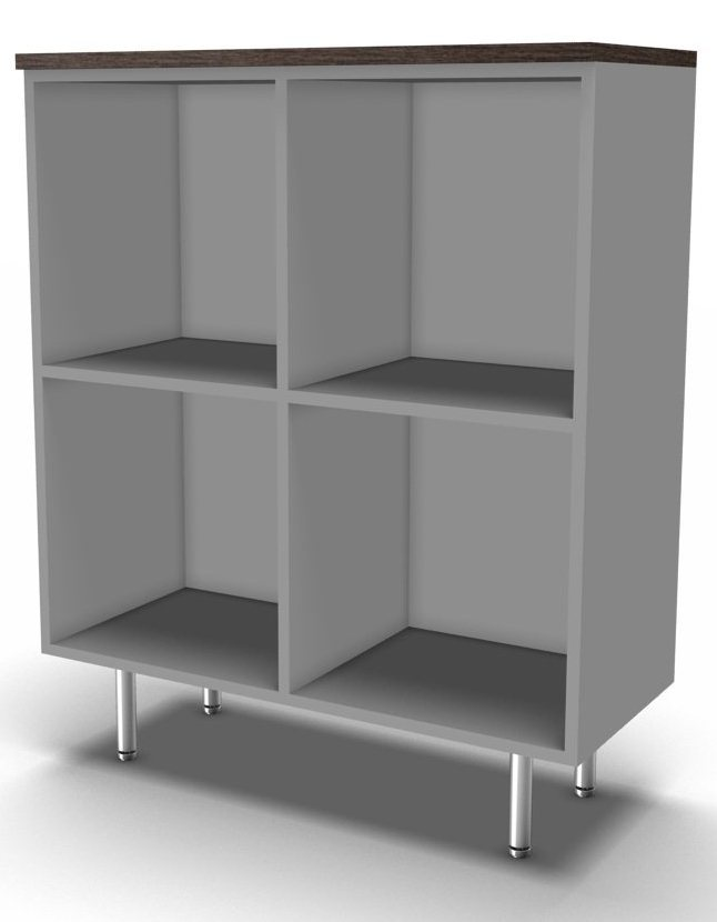 An image of Tao Open Executive Storage Cupboard