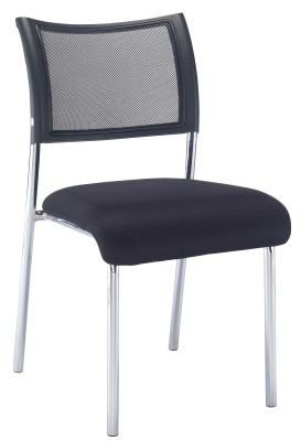 Argent Mesh Conference Chair
